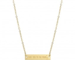 7317-ketting-plaatje-quote-maan-gold